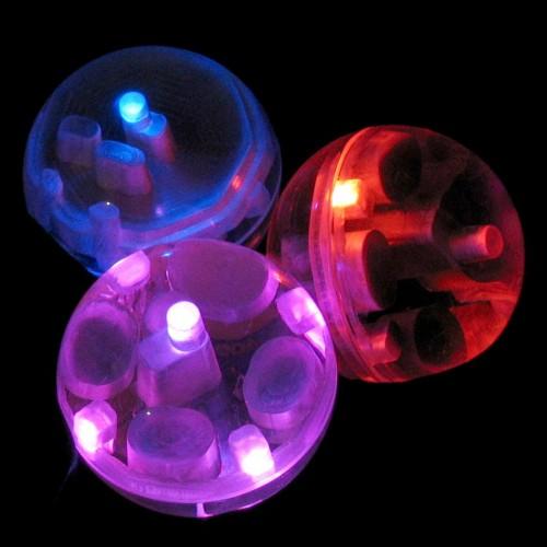 Motion sensing juggling balls